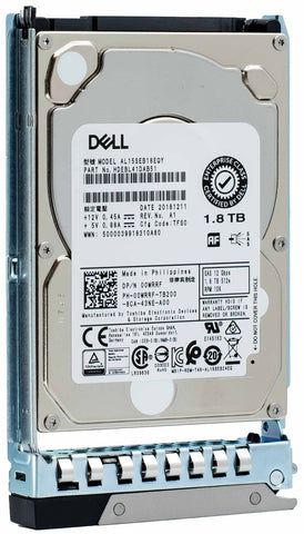 "Dell G14 T8VMH 1.8TB 10K RPM SAS 12Gb/s 512e 2.5"" Hard Drive"