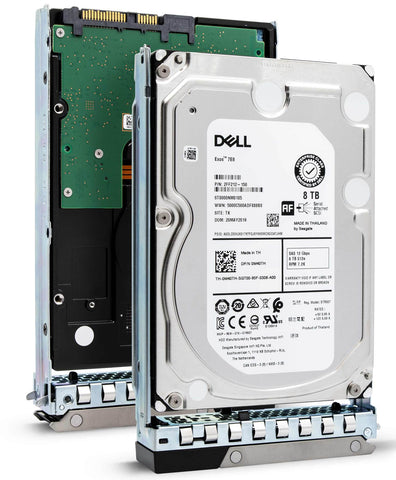 "Dell G14 400-ASIB 8TB 7.2K RPM SAS 12Gb/s 512e 3.5"" NearLine Hard Drive"
