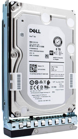 "Dell G14 0V7RN3 8TB 7.2K RPM SAS 12Gb/s 512e 3.5"" SED-FIPS NearLine Hard Drive"