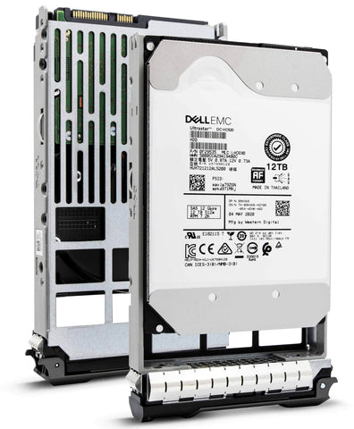 "Dell G13 0P05MG 12TB 7.2K RPM SAS 12Gb/s 512e 3.5"" NearLine Hard Drive"