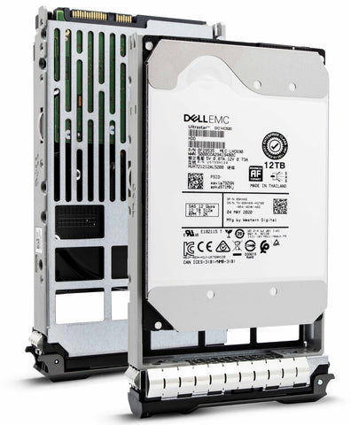 "Dell G13 400-AUTD 12TB 7.2K RPM SAS 12Gb/s 512e 3.5"" NearLine Hard Drive"