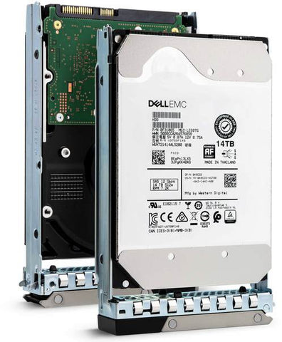 "Dell G14 400-BEII 14TB 7.2K RPM SAS 12Gb/s 512e 3.5"" Hard Drive"