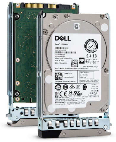 "Dell G14 V7HYG 2.4TB 10K RPM SAS 12Gb/s 512e 2.5"" Hard Drive"