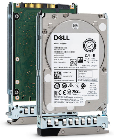 "Dell G14 RWR8F 2.4TB 10K RPM SAS 12Gb/s 512e 2.5"" Hard Drive"