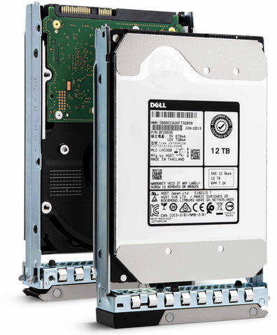 "Dell G14 401-ABHX 12TB 7.2K RPM SAS 12Gb/s 512e 3.5"" NearLine Hard Drive"