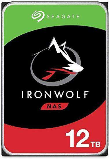 "Seagate IronWolf ST12000VN0008 12TB 7.2K RPM SATA 6Gb/s 256MB 3.5"" NAS Manufacturer Recertified HDD"