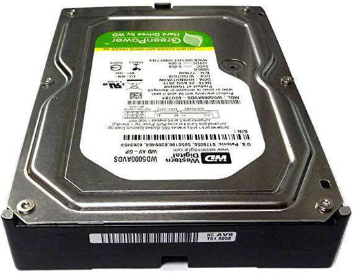 "Western Digital AV-GP WD5000AVDS 500GB 7.2K RPM SATA 3Gb/s 32MB 3.5"" Hard Drive"