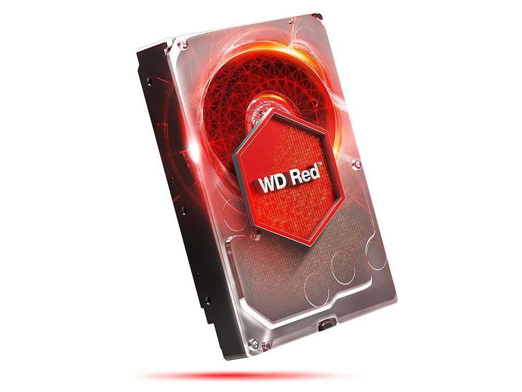 "Western Digital Red WD40EFRX 4TB 5.4K RPM SATA-6Gb/s 3.5"" Manufacturer Recertified HDD"