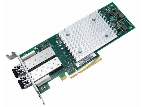 Dell 403-BBMT Qlogic 2692 Dual Port 16Gb Fibre Channel HBA - Low Profile - Manufacturer Recertified
