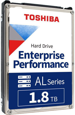 "Toshiba AL15SE AL15SEB18EP 1.8TB 10K RPM SAS 12Gb/s 4Kn 128MB 2.5"" Manufacturer Recertified HDD"