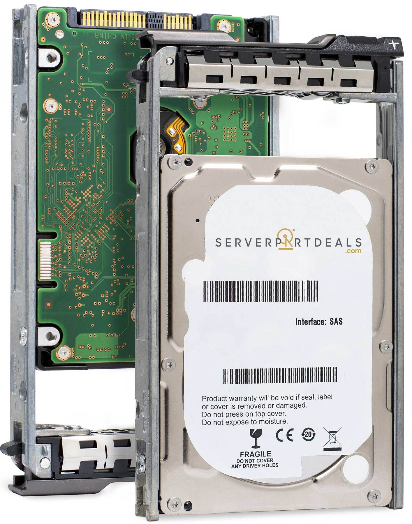 "Dell Compatible G13 400-AEEE 300GB 10K RPM SAS-6Gb/s 2.5"" Manufacturer Recertified HDD"