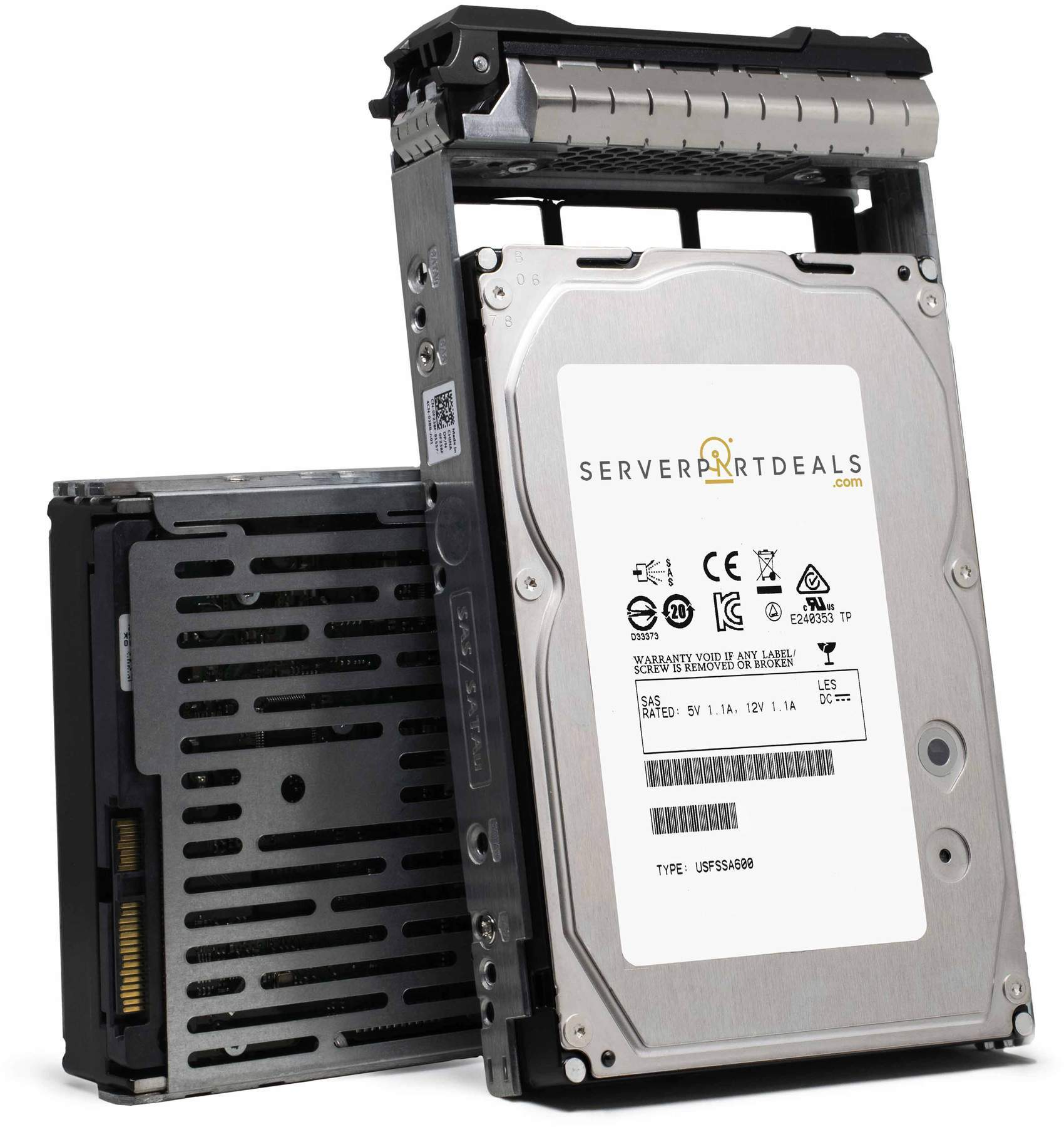 "Dell Compatible G13 GFVJV 2TB 7.2K RPM SAS-6Gb/s 3.5"" Manufacturer Recertified HDD"