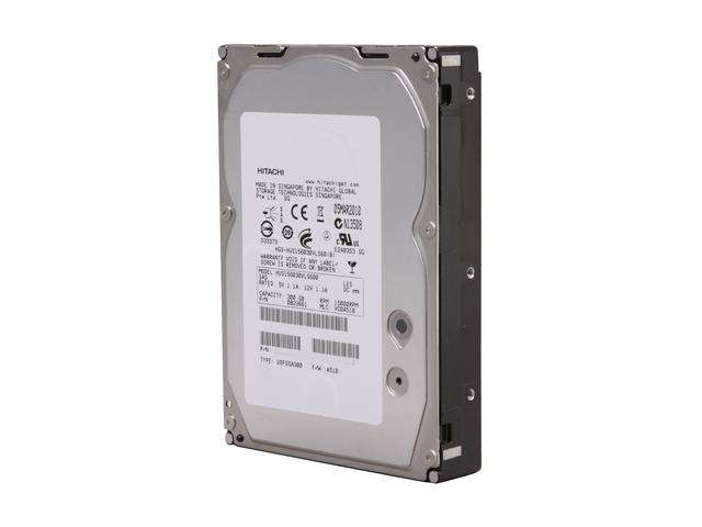 "HGST Ultrastar 15K600 HUS156030VLS600 0B23661 300GB 15K RPM SAS 6Gb/s 64MB Cache 3.5"" Manufacturer Recertified HDD"