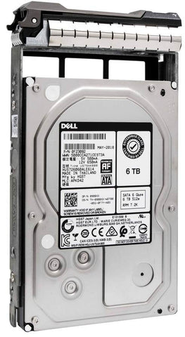 "Dell G13 0908XX 6TB 7.2K RPM SATA 6Gb/s 512e 3.5"" Hard Drive"