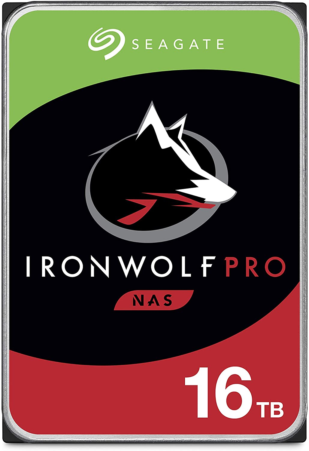 Seagate IronWolf Pro ST16000NE000 16TB 7.2K RPM SATA 6Gb/s 512e 3.5in Refurbished HDD