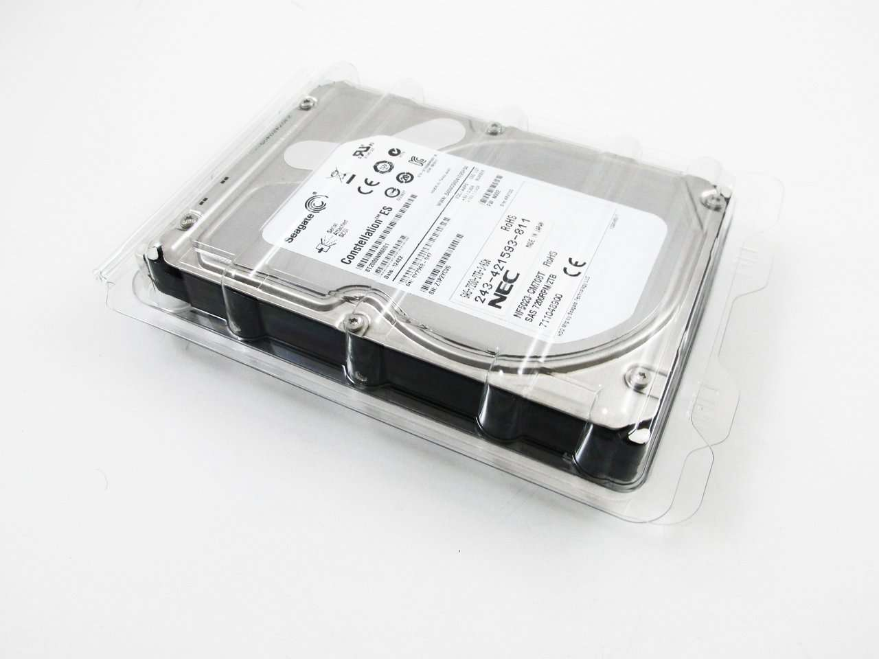 "Seagate Constellation ST2000NM0001 2TB 7.2K RPM SAS 64MB 3.5"" HDD"