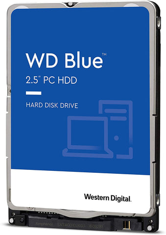 "Western Digital Blue WD10SPZX 1TB 5.4K RPM SATA 6Gb/s 2.5"" Mobile Hard Drive"