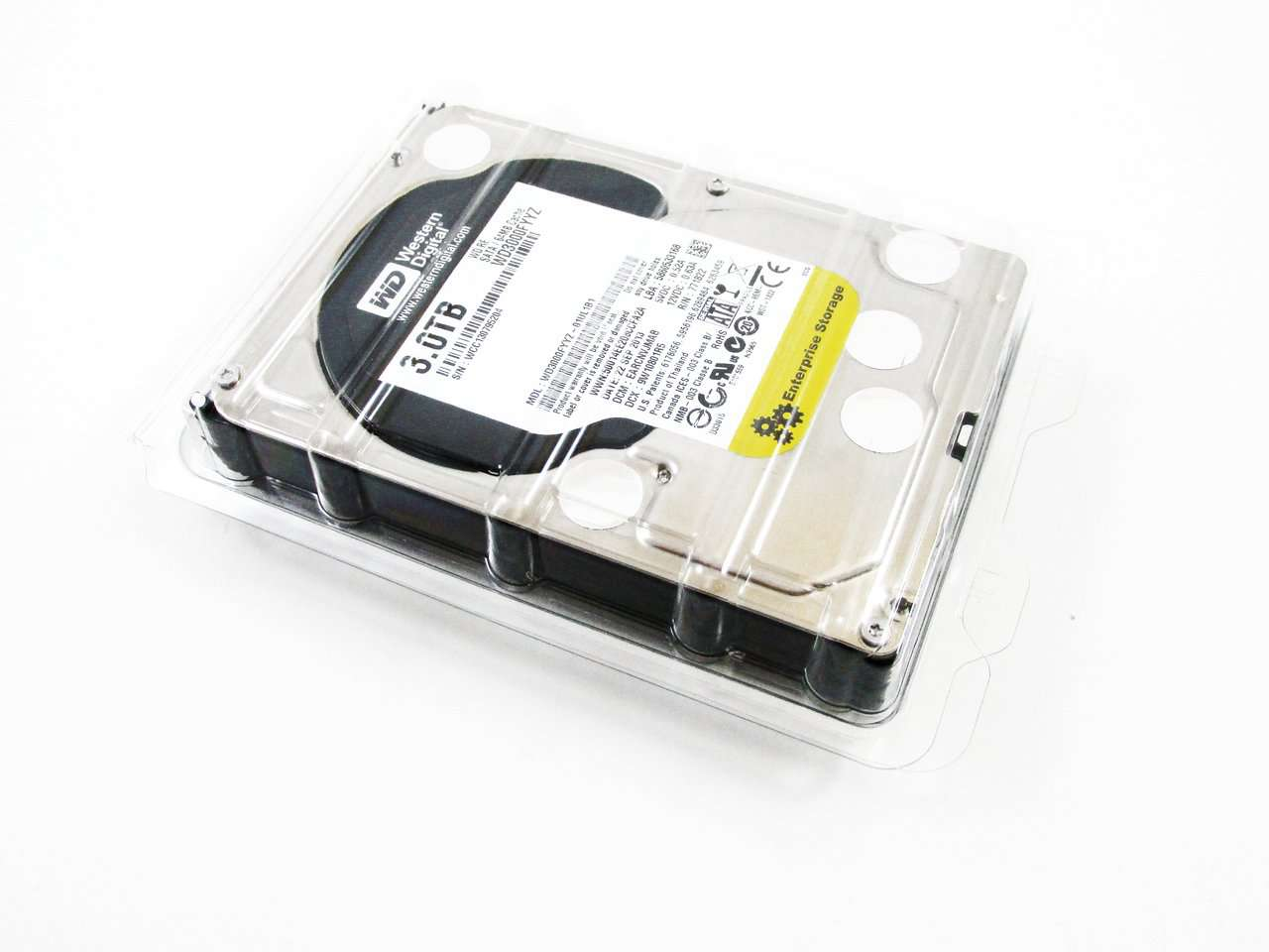 "Western Digital Re WD3000FYYZ 3TB 7.2K RPM SATA 64MB 3.5"" HDD"