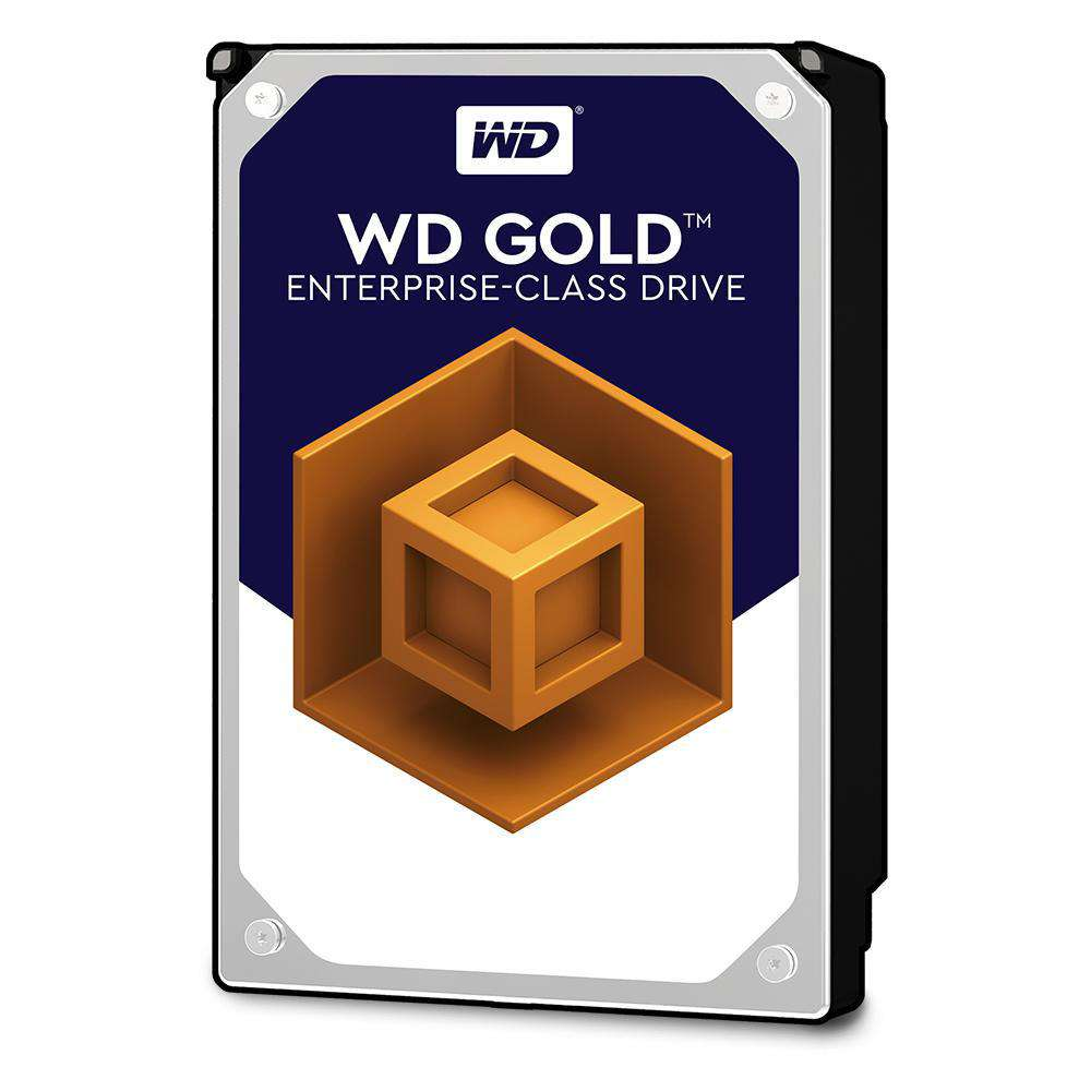 "Western Digital Gold WD8002FRYZ 8TB 7.2K RPM SATA-6Gb/s 3.5"" Manufacturer Recertified HDD"