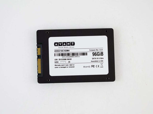 "Avant Value AVSC21AC103M4 96GB SATA-6Gb/s 2.5"" Manufacturer Recertified SSD"
