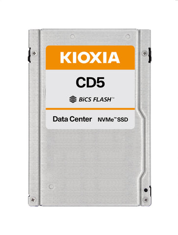 "Kioxia CD5 KCD51LUG7T68 7.68TB PCIe Gen3.0 x4 4GB/s 2.5"" Manufacturer Recertified SSD"