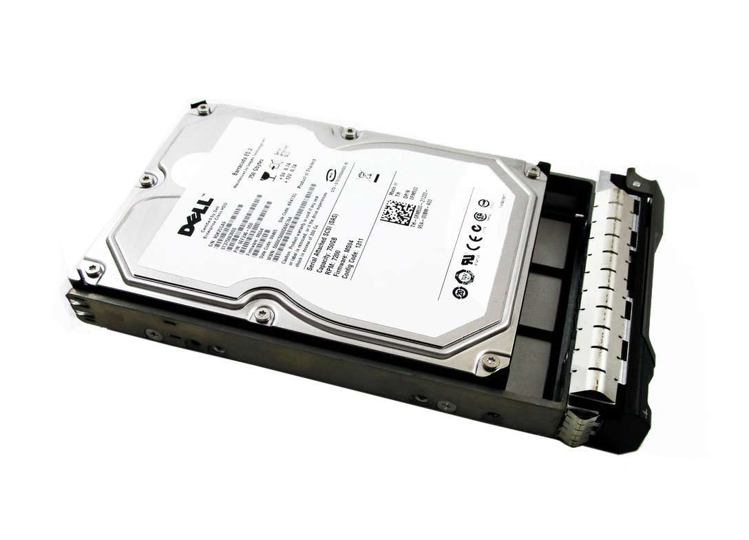 "Dell ST3750630SS 750GB 7.2K RPM 3.5"" SAS-3GB/s Manufacturer Recertified HDD"