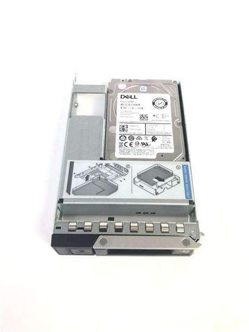 "Dell G14 0697YR 2.4TB 10K RPM SAS 12Gb/s 512e 2.5"" to 3.5"" Hybrid Manufacturer Recertified HDD"