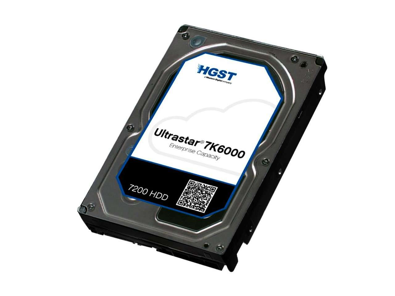 "HGST Ultrastar 7K6000 0F22790  HUS726060AL4210 6TB 7.2K RPM SAS 12Gb/s 4Kn 128MB Cache 3.5"" ISE Manufacturer Recertified HDD"