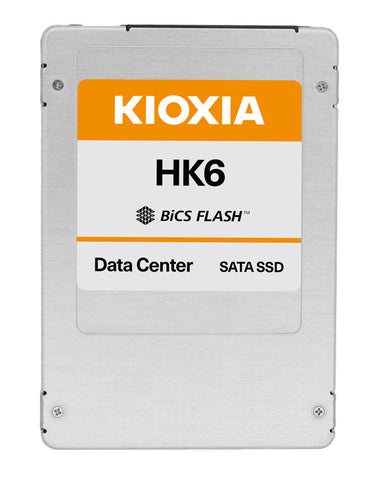 "Kioxia HK6 HKH61VSE960G 960GB SATA 6Gb/s 2.5"" Mixed Use Manufacturer Recertified SSD"