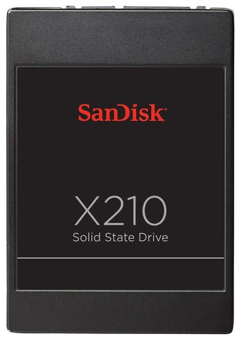"SanDisk X210 SD6SB2M-512G-1022I 512GB SATA-6Gb/s 2.5"" Solid State Drives"