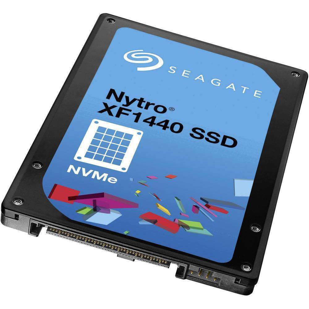 "Seagate Nytro ST1600KN0001 1.6TB PCIe Gen3 x4-4GB/s 2.5"" Manufacturer Recertified SSD"
