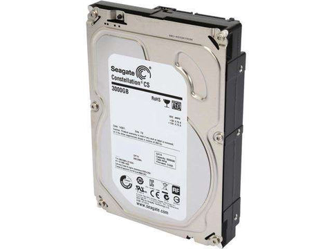 "Seagate Constellation CS ST3000NC002 3TB 7.2K RPM SATA-6Gb/s 3.5"" Hard Drives"