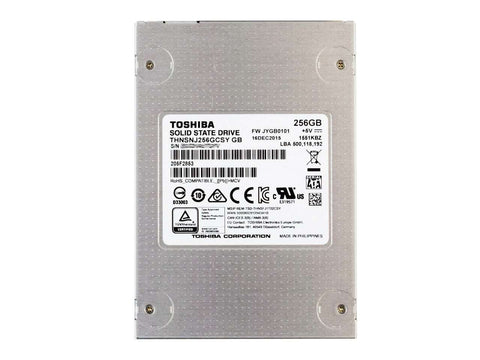 "Toshiba HG6 THNSNJ256GCSY 256GB SATA-6Gb/s 2.5"" Manufacturer Recertified SSD"