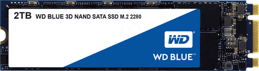 Western Digital Blue WDS200T2B0B 2TB SATA-6Gb/s M.2 Solid State Drives