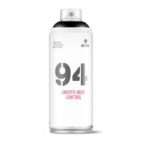 MTN 94 Spray Paint - Matt Black