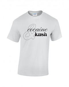 Cocaine & Kush Tee - White