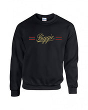 Biggie Stripe Crew - Black