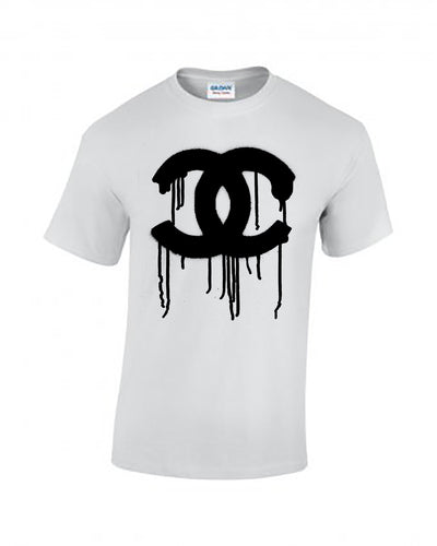 Chanel Dribble Tee - White