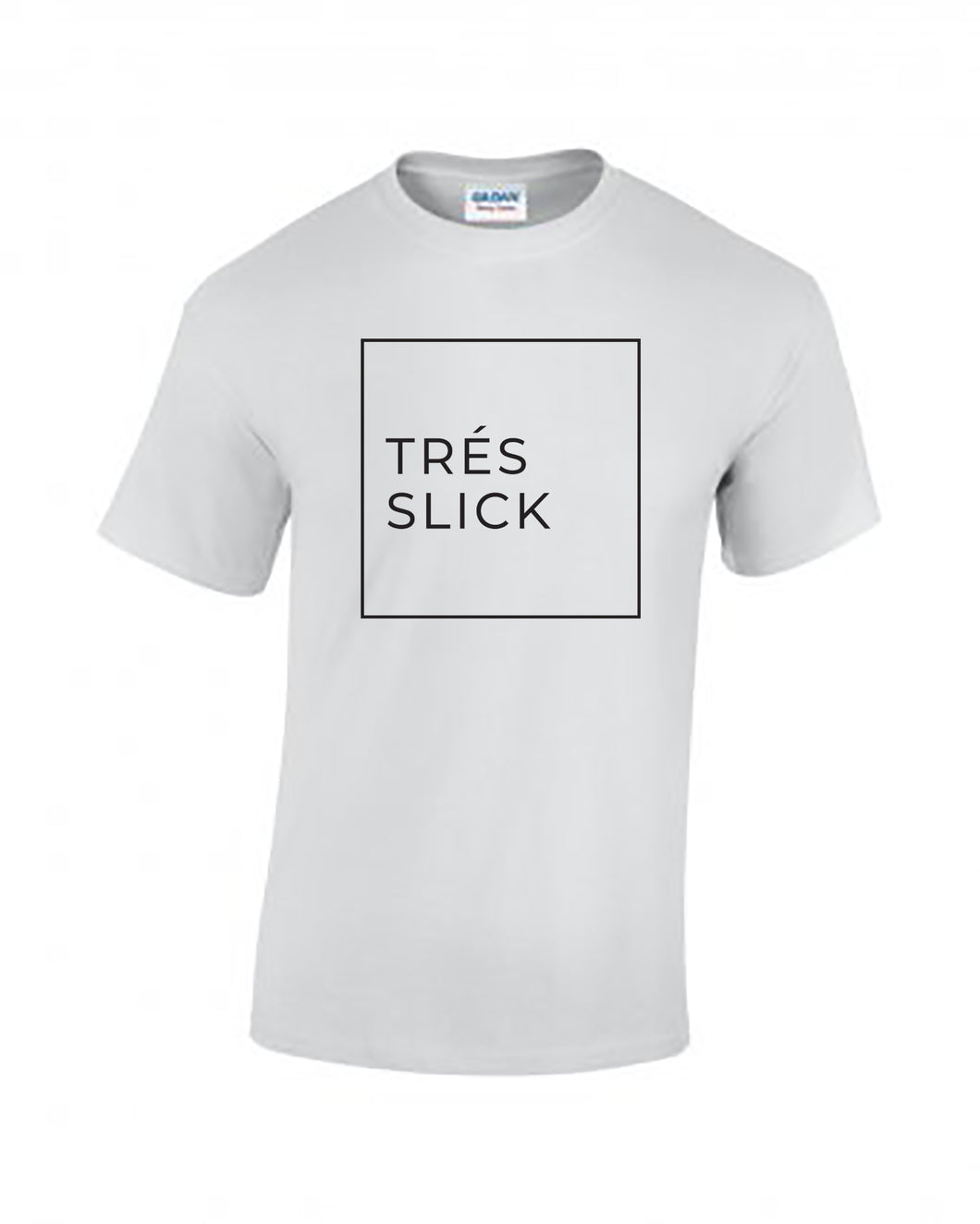 Tres Slick Square Tee - White
