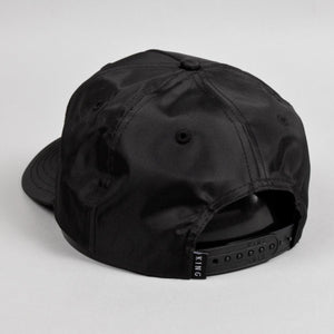 Aldgate Curved Peak Cap - Black
