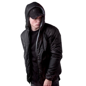 Blackwell Reversible Down Jacket - Black