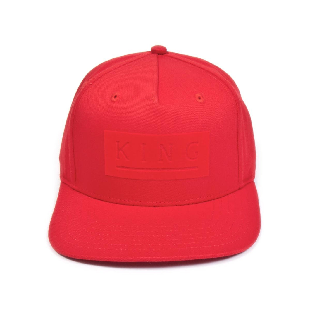 Manor Snapback - Crimson Red