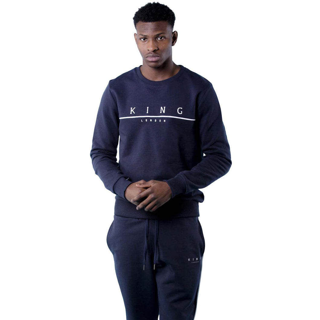Tennyson Tracksuit Top - Ink