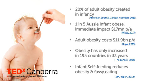 The evidence on infant obesity, long term impacts, and solutions.