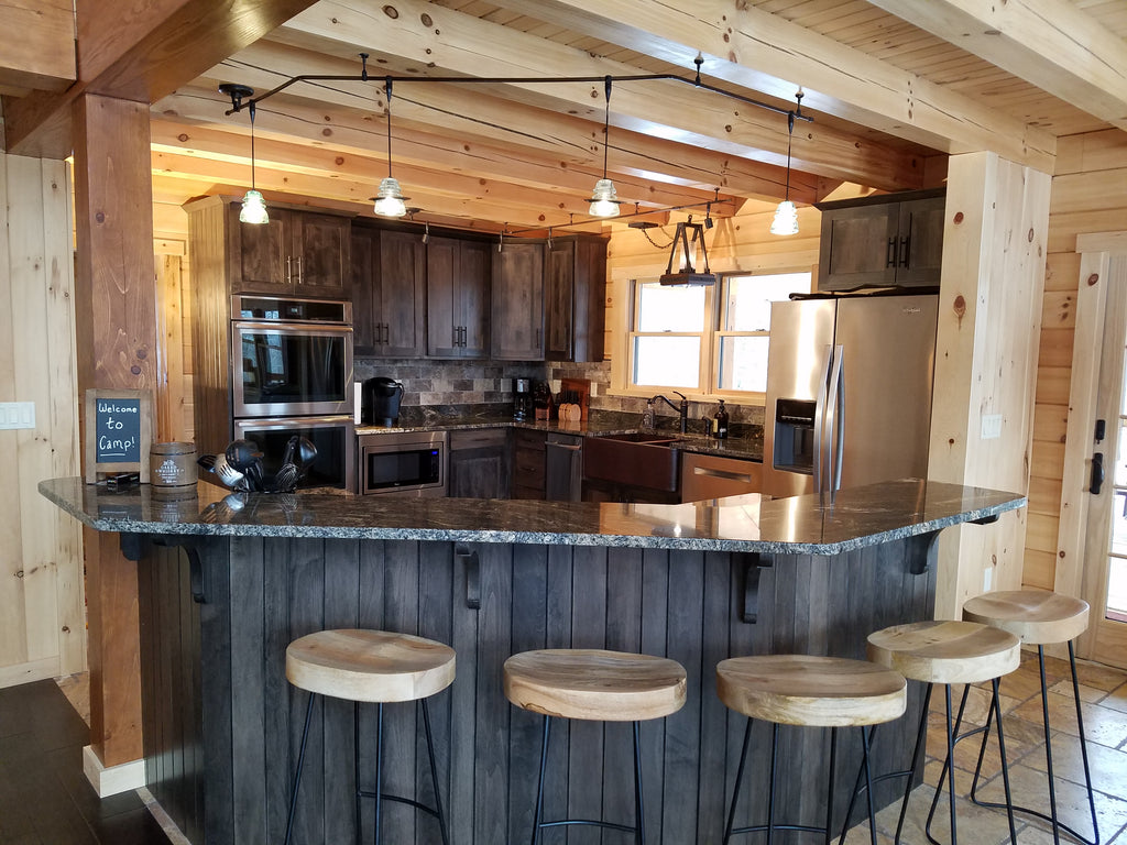 Kitchen Island  Lost Bear Cabin