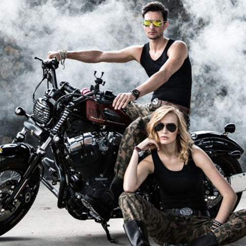Mens Camo Motorcycle Pants