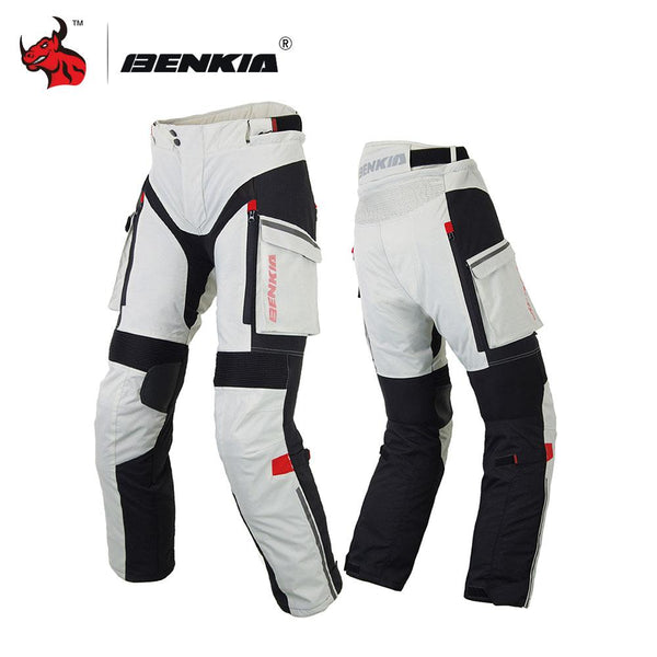 BENKIA Motorcycle Pants Mens Trousers