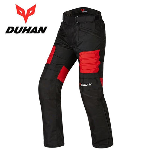 DUHAN Men's Motorbike Windproof Protective Trousers