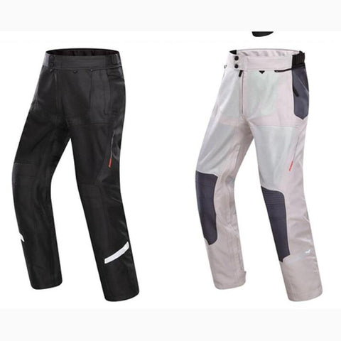 DUHAN Mens Summer Breathable Mesh Riding Pants