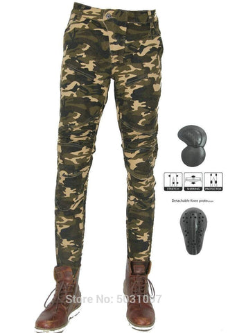 MESH Riders Pants - Camo / Black